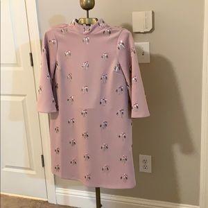 ASOS blush maternity dress